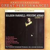 Eileen Farrell - Puccini Arias / Rudolf, Columbia SO