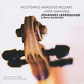 Mozart: Violin Concertos / Leertouwer, La Borea Amsterdam