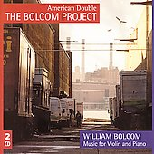 Bolcom: Works for Violin and Piano / American Double