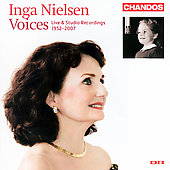 Inga Nielsen - Voices, Live & Studio Recordings