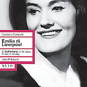 Donizetti: Emilia di Liverpool highlights / Sutherland