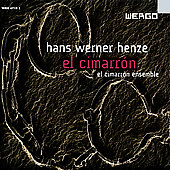 Henze: El Cimarr&oacute;n / El Cimarr&oacute;n Ensemble