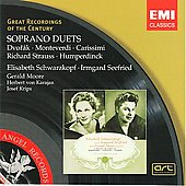 Soprano Duets - Dvor&aacute;k, Monteverdi, et al / Schwarzkopf, Seefried, et al