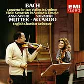 Bach: Concertos for Two Violins, etc / Mutter, Accardo
