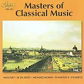 Masters of Classical Music, Vol 5 - Mozart, Ivanovici, et al / Kazandjiev, Sofia Symphony Orchestra