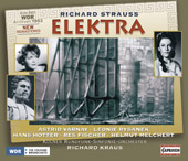R. Strauss: Elektra / Kraus, Varnay, Rysanek, Hotter, et al