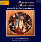 Memorable Swedish String Quartets Vol. 1:3