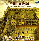 William Byrd: Cantiones Sacrae (1589)
