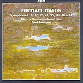 Michael Haydn: Symphonies 14, 17, 19, 24, 29