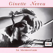 In Memoriam: Ginette Neveu