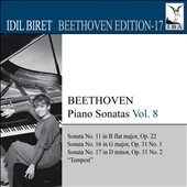 Idil Biret Archive Edition, Vol. 17: Beethoven