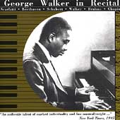 George Walker in Recital - Scarlatti, Beethoven, et al