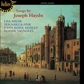 Songs by Joseph Haydn / Lisa Milne, Bernarda Fink, John Mark Ainsley, Roger Vignoles