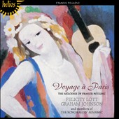 Voyage à Paris: The Melodies of Francis Poulenc / Felicity Lott, Graham Johnson