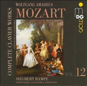 Mozart: Complete Clavier Works, Vol. 12 / Siegbert Rampe, harpsichord, clavichord & fortepiano