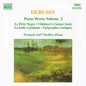 Debussy: Piano Works Vol 2 / François-Joël Thiollier