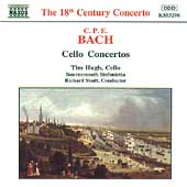 C.P.E. Bach: Cello Concertos / Hugh, Studt, Bournemoth
