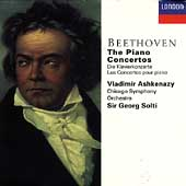 Beethoven: The Piano Concertos / Ashkenazy, Solti