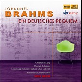 Brahms: A German Requiem / Christiane Karg; Thomas Bauer. Rolf Beck