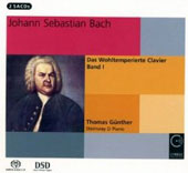 Bach: The Well-Tempered Clavier, Book I / Thomas Gunther, piano