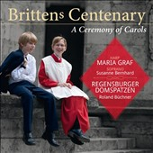 Brittens Centenary: A Ceremony Of Carols; Suite for Harp; Ceremony of Carols; A Birthday Hansel; 8 Folksong arrangements / Maria Graf, harp; Susanne Bernhard, soprano