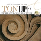 Music from the Netherlands - Trio sonatas and quartets by de Fesch, Ruppe, Hellendaal, Ruloffs, Focking / Amsterdam Baroque Ens., Ton Koopman
