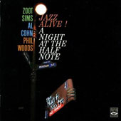 Al Cohn/Phil Woods/Zoot Sims: Jazz Alive: A Night at the Half Note
