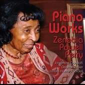 Zenobia Powel Perry (b.1908): Piano Works / Josephine Gandolfi; Deanne Tucker; LaDoris Hazzard Cordell (pianists)