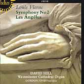 Vierne: Symphony no 2, etc / David Hill, Gordon Jones