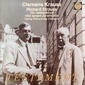 Strauss: Ein Heldenleben, etc / Krauss, Vienna Philharmonic