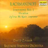 Rachmaninoff: Symphony no 2, etc / Zinman, Baltimore SO
