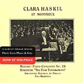 Clara Haskil at Montreux - Mozart, Hindemith