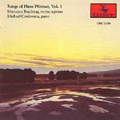 Songs of Hans Pfitzner Vol 1 / Busching, Cordovana