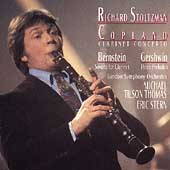 Copland: Clarinet Concerto;  Bernstein, Gerhswin / Stoltzman