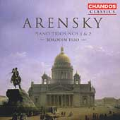 Classics - Arensky: Piano Trios no 1 & 2 / The Borodin Trio