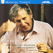 Tippett: Symphonies no 2 & 4 / Tippett, BBC SO
