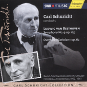 Carl Schuricht-Collection - Beethoven: Symphony no 9, etc
