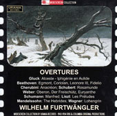 Overtures by Gluck, Beethoven, Cherubini, Weber, Schumann, Liszt, Mendelssohn, Wagner / Wilhelm Furtwangler