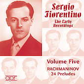 Sergio Fiorentino - The Early Recordings Vol 5