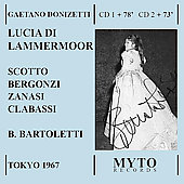 Donizetti: Lucia di Lammermoor / Bartoletti, Scotto, et al