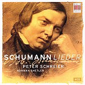 Schumann: Songs / Peter Schreier, Norman Shelter