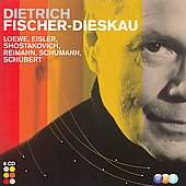 Dietrich Fischer-Dieskau - Loewe, Schumann, Schubert, et al