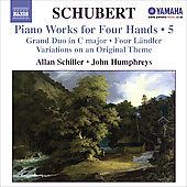 Schubert: Piano Works Four Hands, Vol 5