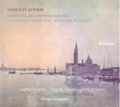 D'Indy: Symphony in A Minor, etc / Bringuier, Engerer, Mosnier, Coppey, et al