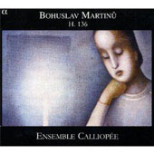 Martinu: String Trio no 1 H 136, etc / Lethiec, Ensemble Calliopée, et al [CD & DVD]