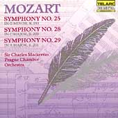 Classics - Mozart: Symphonies no 25, 28 & 29 / Mackerras
