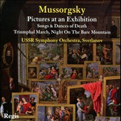 Mussorgsky: Pictures Of An Exhibition; Song & Dances Of Death