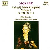 Mozart: String Quintets Complete Vol 1 / &Eacute;der Qt, Feh&eacute;rv&aacute;ri