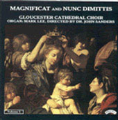 Magnificat and Nunc Dimittis Vol 1 / Gloucester Choir