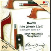 Dvor&#225;k: String Quintet in G, Op. 77 / Berlin Philharmonic String Quintet